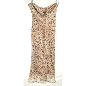 Laundry By Shelli Segal Dresses - Laundry Shelli Segal Dress SZ 4 halter leopard ani